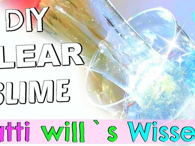 DIY CRYSTAL CLEAR SLIME I Transparent Slime Test I PatDIY Lee