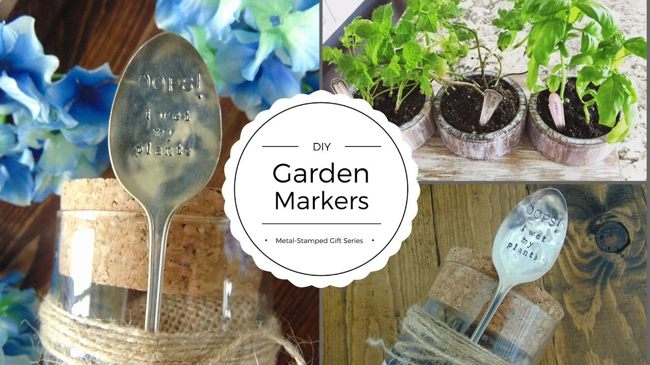 DIY Garden Markers: Metal-Stamped Gifts Series, My Crafts ...