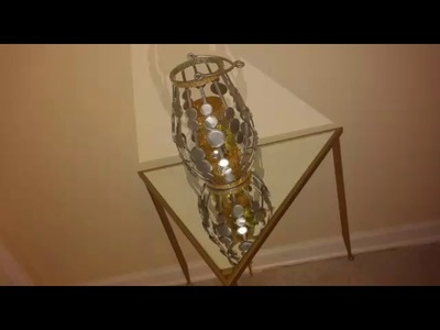 DIY Gold Accent Table