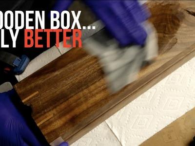 DIY Mid-Century Modern Wooden Box