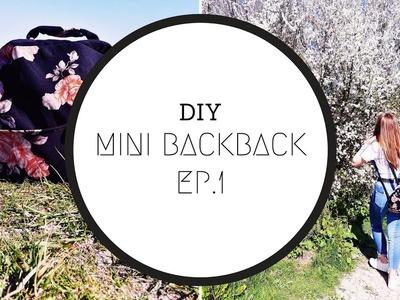 DIY MINI BACKPACK   1 DRESS, 1 TOP AND A SHIRT   Craze Of Fashion
