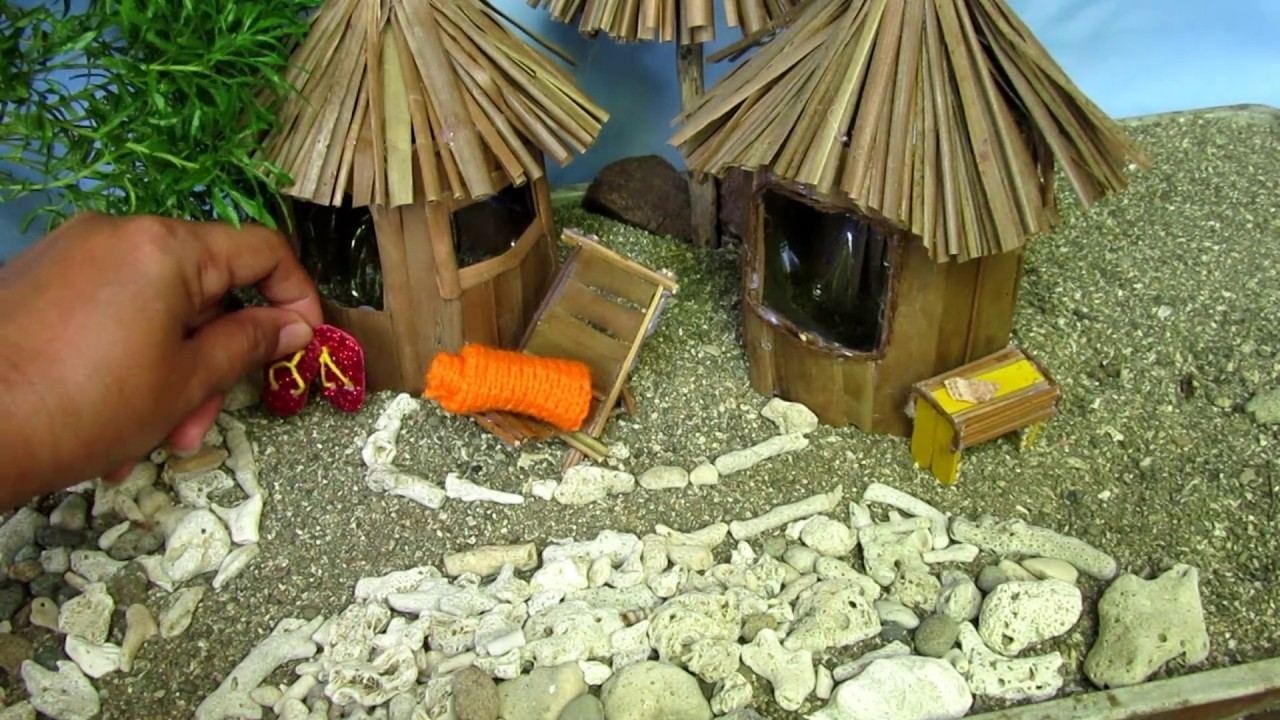 Diy mini beach hut bird feeder for Beach hut ideas