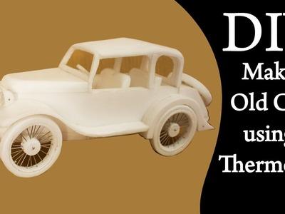 DIY | Old car using thermocol | Artitude