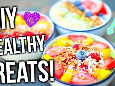 DIY Quick, Easy, + Healthy (Acai Bowl Inspired) Treats! | Tatiana Boyd