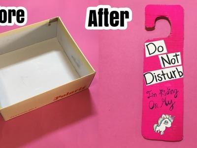 DIY: Unicorn Door Sign!  | Super Easy !! | ORDANI DIY