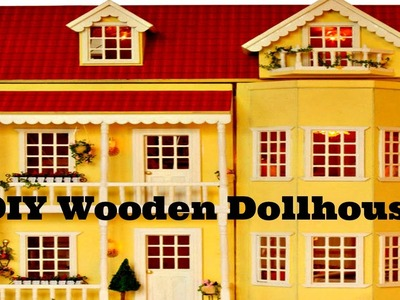 DIY Wooden Dollhouse Handmade Miniature Kit with LED Lights & what it is worth