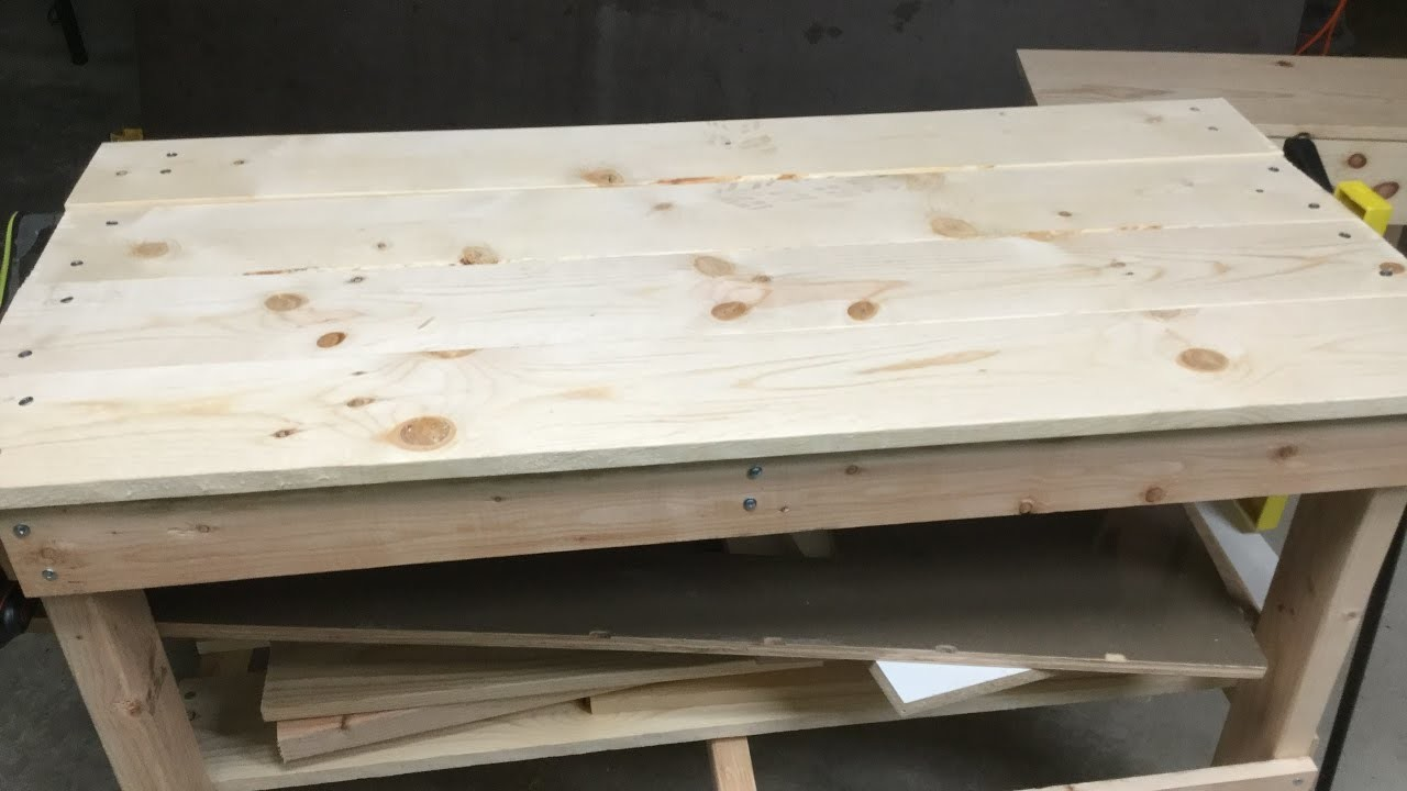 how to build a sturdy workbench