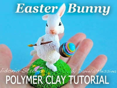 Easter Bunny Polymer Clay Tutorial - HAPPY EASTER!!