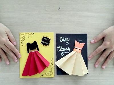 Easy lovely handmade cards for Women's Day