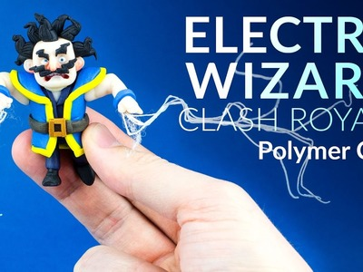 Electro Wizard (Clash Royale) – Polymer Clay Tutorial