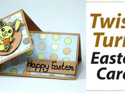 Handmade Easter Card - Twist Turn Card Making Step by Step