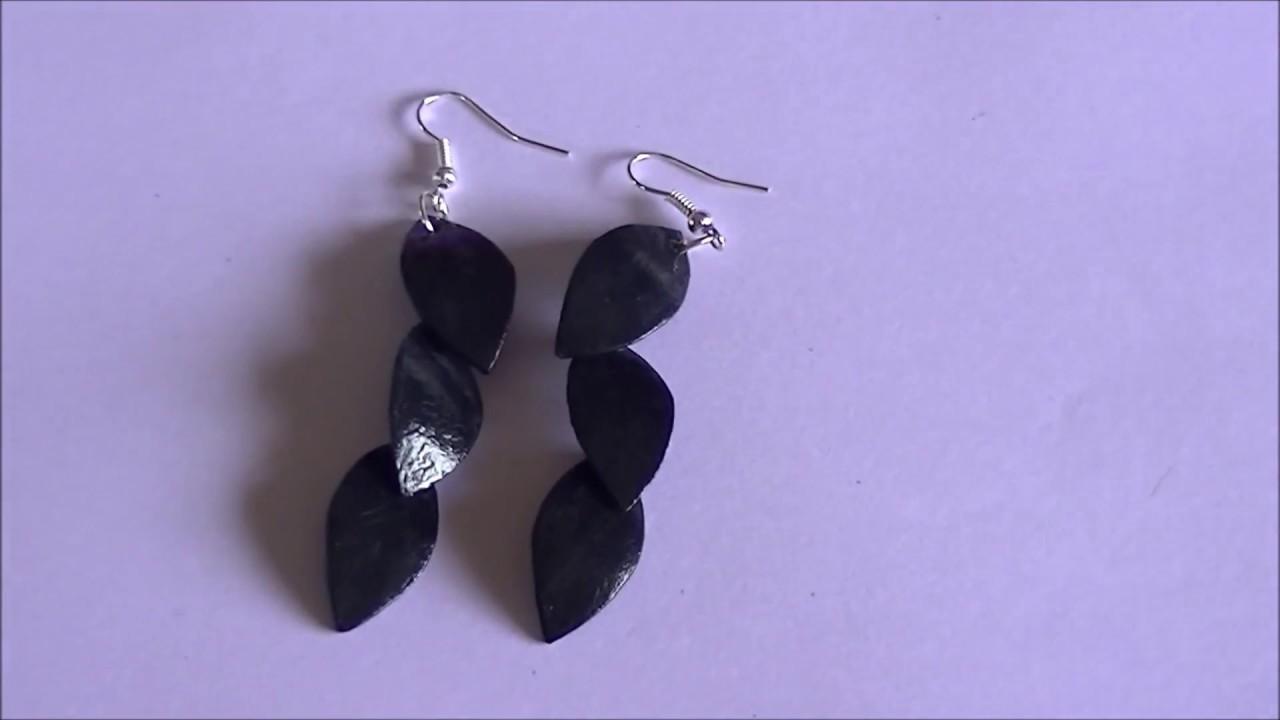paper earrings handmade paper jewellery tutorial - photo #24