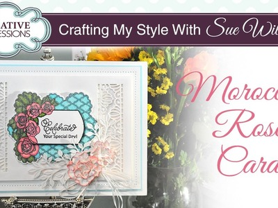 Handmade Layered and Stamped Card | Crafting My Style with Sue Wilson