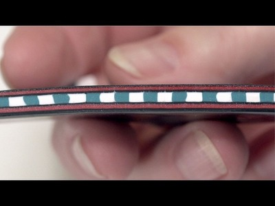 How to Create a Zipper Cane Using Polymer Clay