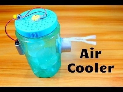 How to make a simple air cooler at home( BEST summer DIY project)