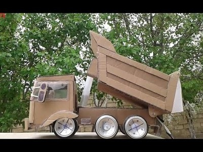 How to Make Amazing Hooklift Truck - Wow! Amazing RC Hooklift Truck DIY