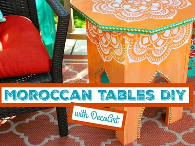 HOW TO: Moroccan Tables DIY