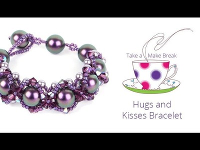 Hugs & Kisses Bracelet | Take a Make Break with Beads Direct