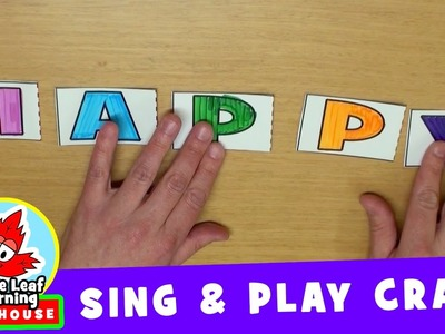 I'm Happy Sing and Play Craft | Maple Leaf Learning Playhouse