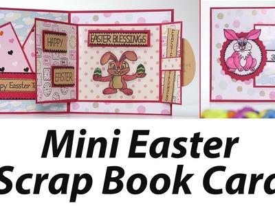 Mini Scrapbook - Handmade Easter Greeting Card