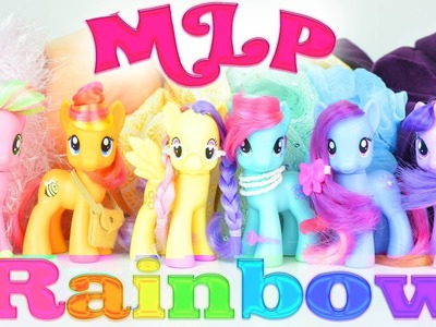 MLP: Colors of the Rainbow! My Little Pony Toy Rainbow Tag | MLP Fever