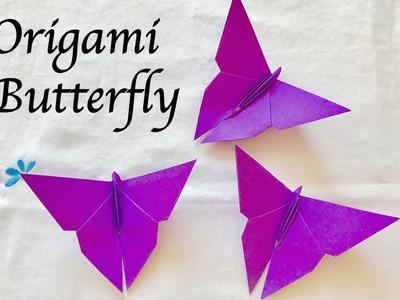 Origami Butterfly : Origami : สอนพับผีเสื้อ