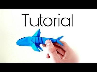 Origami Whaleshark tutorial part 2