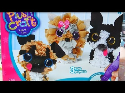 Plush Craft-Puppy Pack (Unboxing.Review.Let's Play