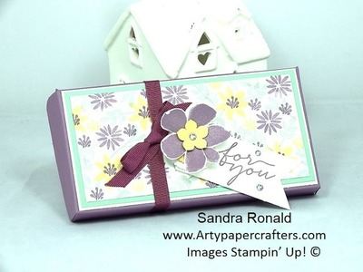 Pretty Handmade GIFT BOX + GIVEAWAY! -  SandraR Stampin' Up! Demonstrator Independent