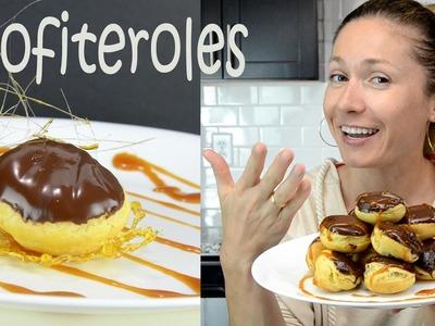Profiteroles Cooking recipe - How to make dessert - DIY dessert recipes