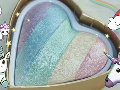 Rainbow Highlighter Review - Unicorn Hearts vs Essence + Rival de Loop Limited Edition
