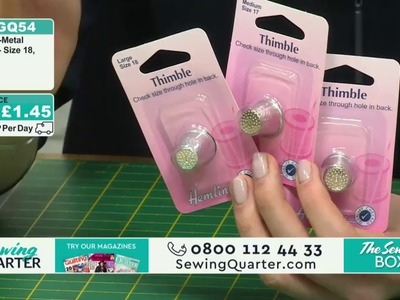 Sewing Quarter - The Sewing Box - 6th April 2017