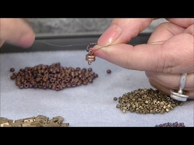 Stitching a Seed Bead Wrap Bracelet with Gail DeLuca