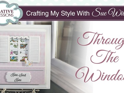 Sweet Handmade Shabby Chic Card |Crafting My Style with Sue Wilson