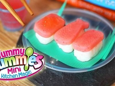 Yummy Nummies Candy Sushi DIY CANDY Kit | KAWAII COOKIN