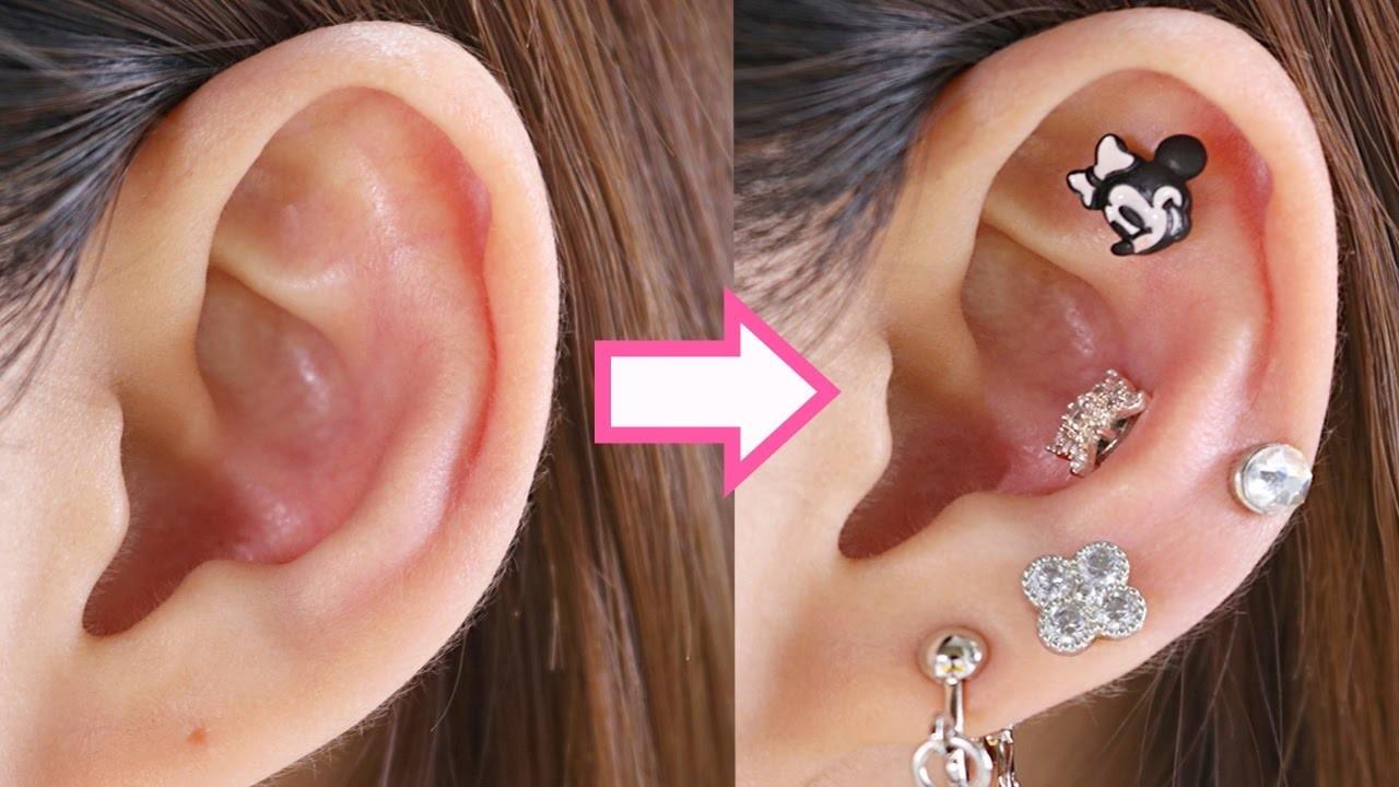 15 DIY EARRINGS AND PIERCING 15 DIY Projects Earrings Riarua