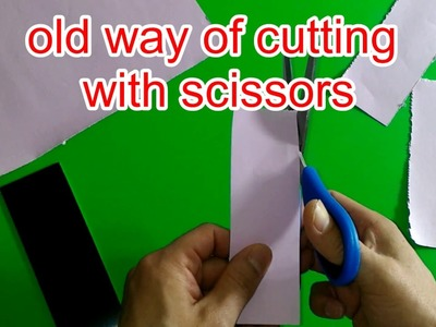 4 life hacks for cutting paper straight