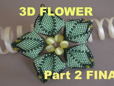 Beading of the MOST BEAUTIFUL FLOWER!!! Part 2 of the Tutorial in English!