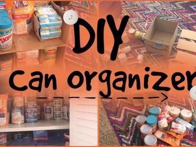 Cardboard Pantry Organizer HACK!- DIY