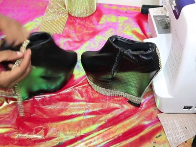 ✓ DIY How Fix Damaged Suede Shoe, Custom Boots Stilettos  Heels ➟ Dihalli Beauty