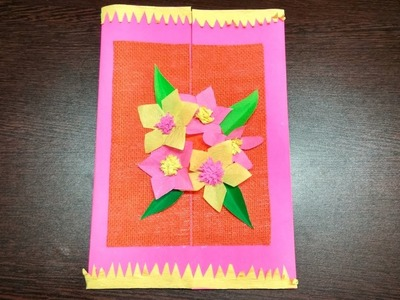 DIY | Mother's Day card tutorial | Summer craft | How to make Crepe Paper flower