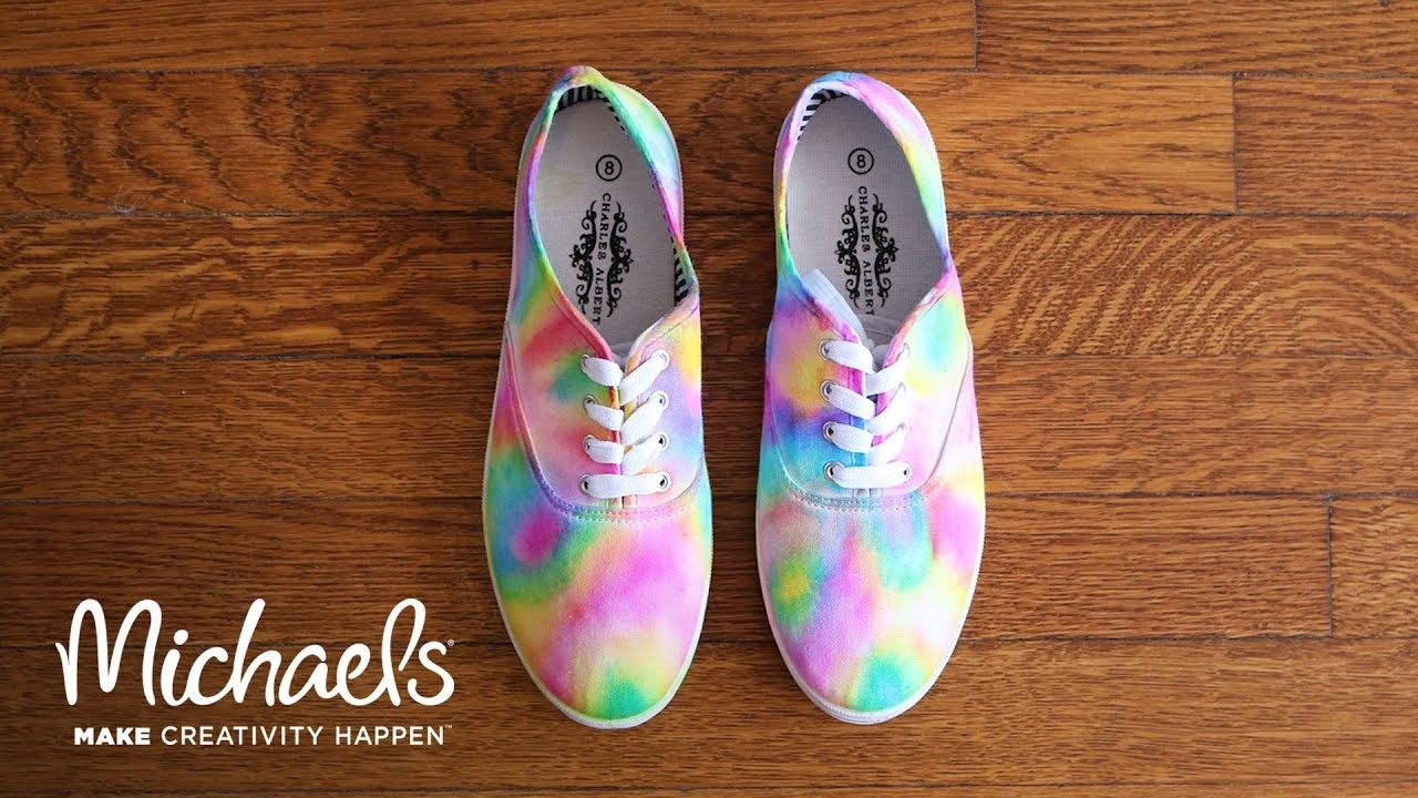 diy sharpie tie dye shoes my crafts and diy