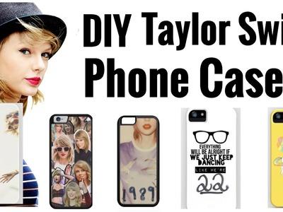 DIY TAYLOR SWIFT PHONE CASE!
