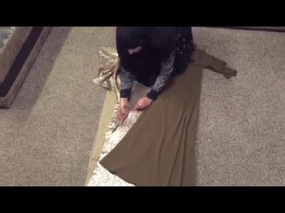 DIY TUTORIAL  How to make maxi dress  Basic steps  Bobiz Kollection clip2