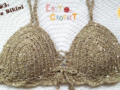 Easy Crochet for Summer Ep03: Crochet Sparkle bikini