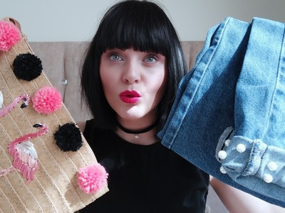How to customise your clothes. DIY | Natural blonde