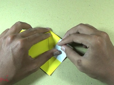 How to Make an Origami Bee Step by Step