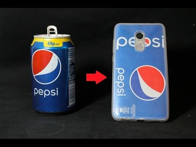 How To Make PEPSI PHONE CASE -DIY- Easy to Make at Home