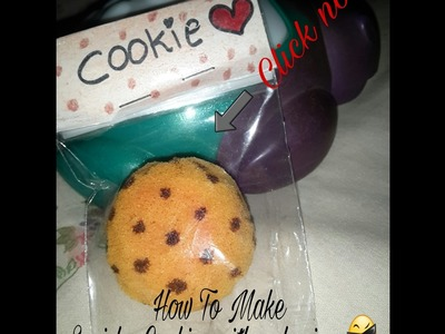 How to make squishy cookies with pakaging ❤ (indonesia version) | AMANDA DIY