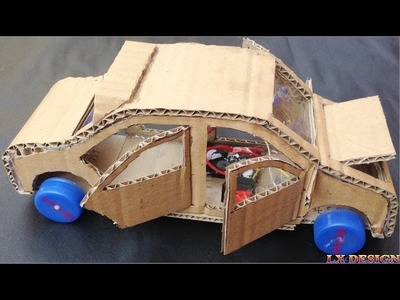 How To Make Toyota Prius Using DC Motor - Powered car DIY At Home